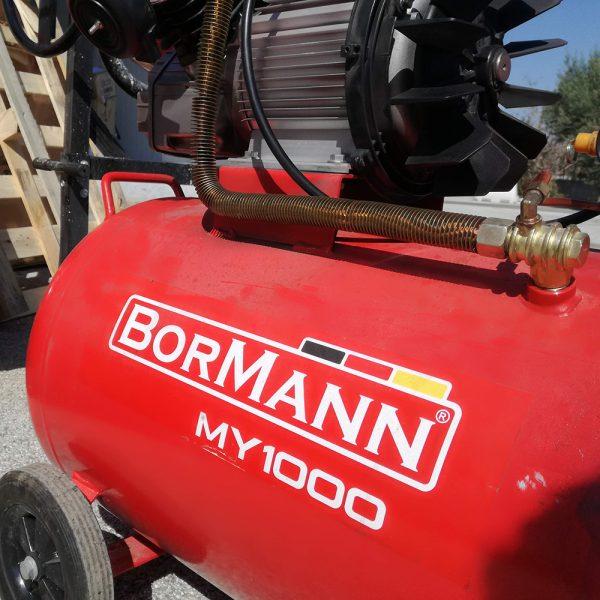 Αεροσυμπιεστής μονομπλόκ με λάδι 100L BORMANN MY1000