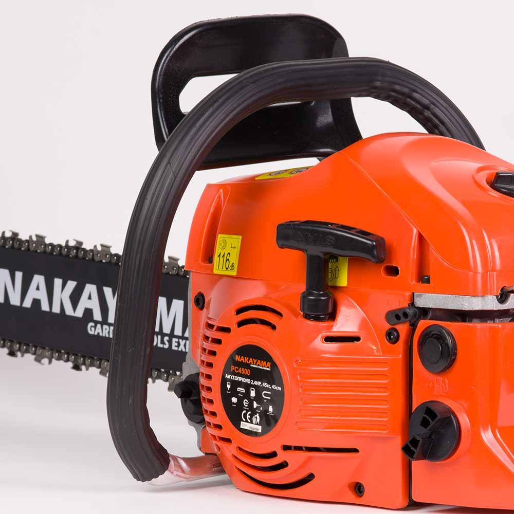 Αλυσοπρίονο βενζίνης 45cc 450mm NAKAYAMA PC4500