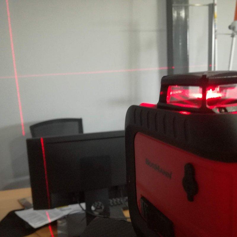 Αλφάδι Laser 20m BORMANN BDM2000