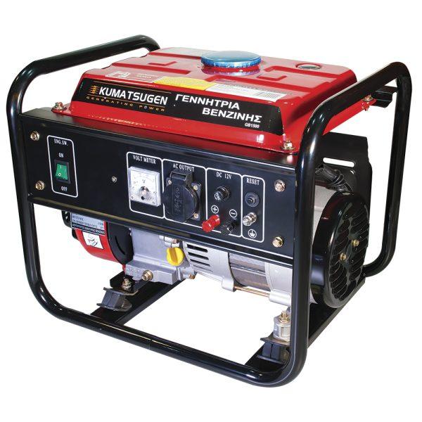 Γεννήτρια βενζίνης 3HP OHV AVR KUMATSUGEN GB1500