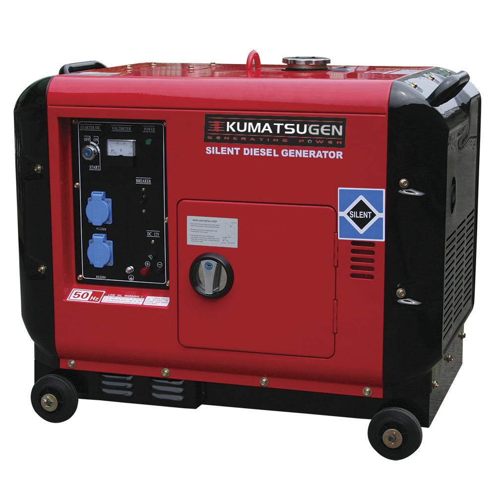 Γεννήτρια πετρελαίου AVR KUMATSUGEN GP8000MAT