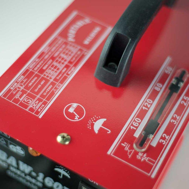 Ηλεκτροκόλληση 160Α BORMANN BAW160