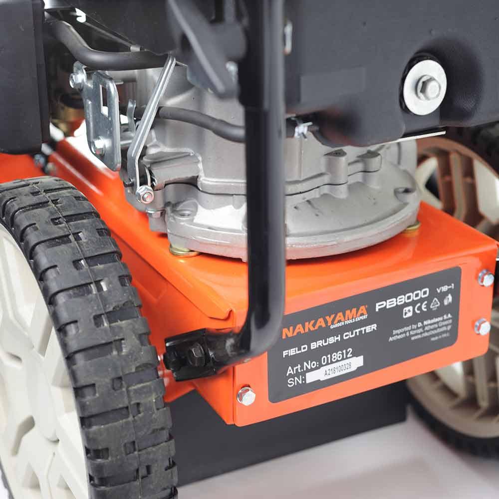Θαμνοκόπτης τροχήλατος τετράχρονος 4HP NAKAYAMA PB8000