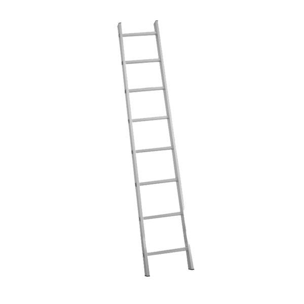 Μονή σκάλα αλουμινίου με 11 σκαλιά BORMANN BHL1011 BHL1013