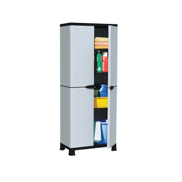 Πλαστική ντουλάπα BORMANN με 3 ράφια BPC6000