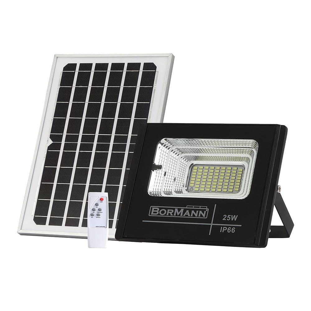 Προβολέας ηλιακός με φωτοβολταϊκό πάνελ 100W BORMANN BLF2300