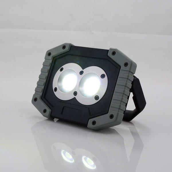 Προβολέας LED 10W 800Lumen επαναφορτιζόμενος BORMANN BRL8000