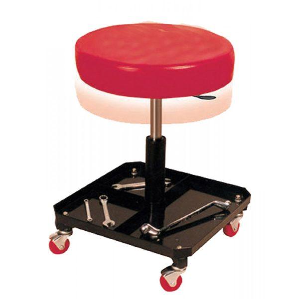 Πτυσσόμενο κάθισμα συνεργείου με θήκη εργαλείων BORMANN BWR5056