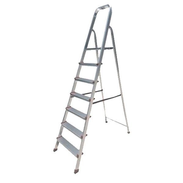 Σκάλα αλουμινίου με 3+1 σκαλιά BORMANN BHL5003 Σκάλα αλουμινίου με 5+1 σκαλιά BORMANN BHL5005 Σκάλα αλουμινίου με 6+1 σκαλιά BORMANN BHL5006 Μέγιστη αντοχή σκάλας - 150kg βάρος