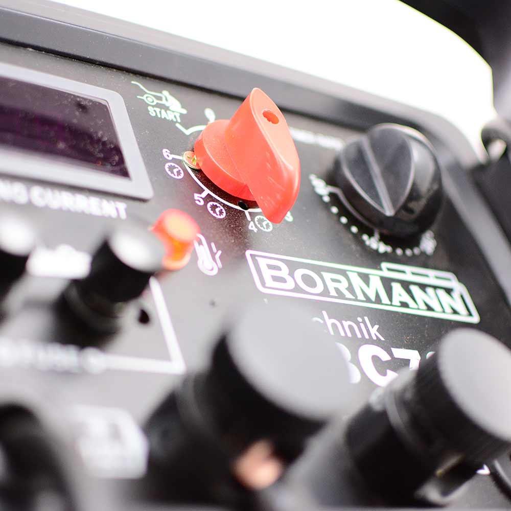 Φορτιστής εκκινητής μπαταρίας 12-24V BORMANN BBC7000