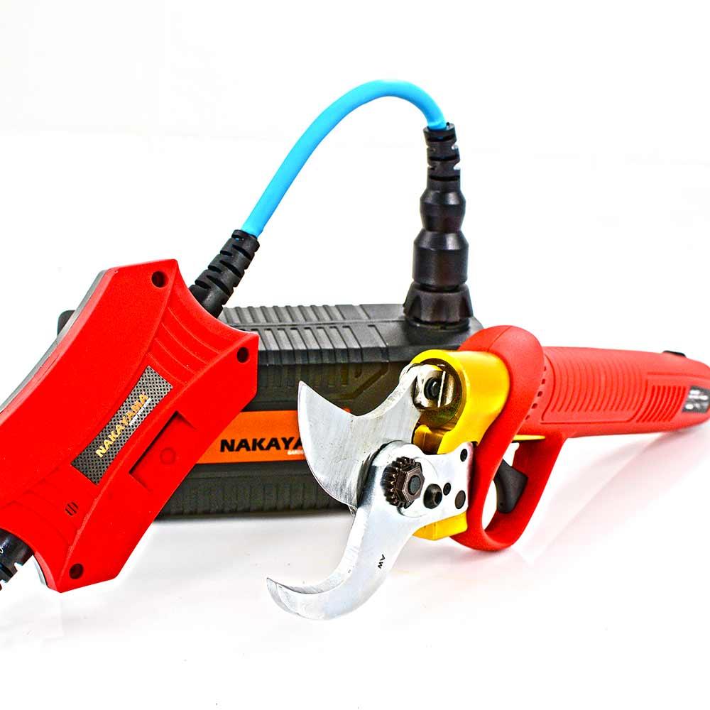 Ψαλίδι κλάδου μπαταρίας δενδροκομικό 40V NAKAYAMA BS4000