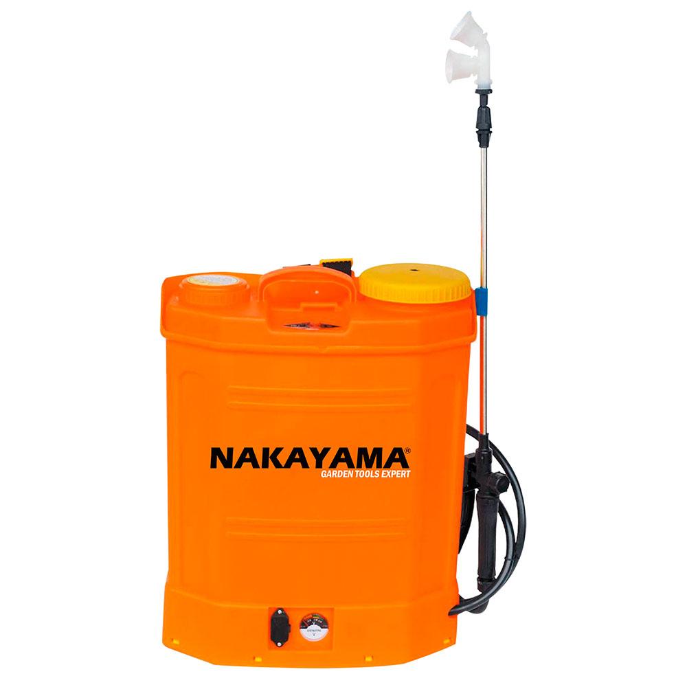 Ψεκαστήρας πλάτης μπαταρίας 12V 16Lt NAKAYAMA NS1612