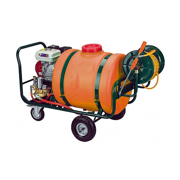 Ψεκαστικό βενζίνης 6,5HP 160Lt με ανέμη & λάστιχο NAKAYAMA NS6200