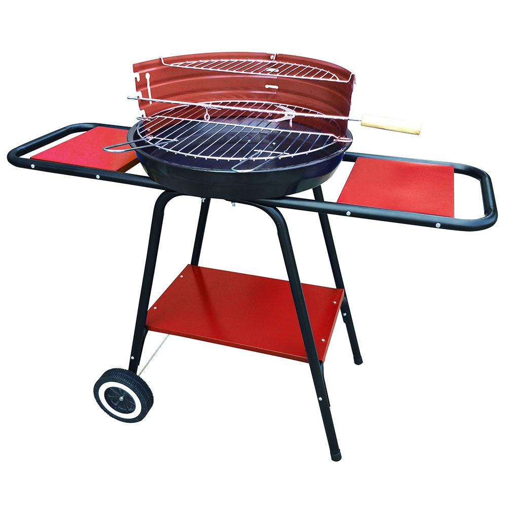 Ψησταριά κάρβουνου με τραπέζια & ρόδες Φ46cm BORMANN BBQ1150