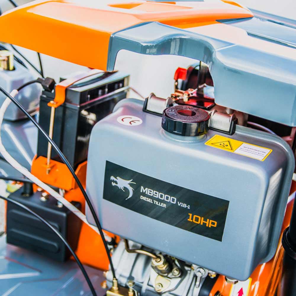 Επαγγελματικό σκαπτικό πετρελαίου 10ΗΡ 150cm Nakayama PRO MB9000