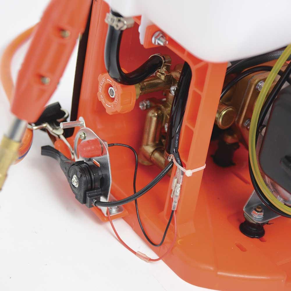 Ψεκαστήρας πλάτης 26cc, 25Lt δίχρονος Nakayama NS2625